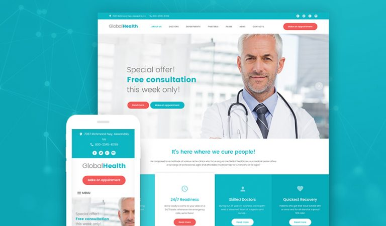 Premium dentist WordPress themes to boost up your business