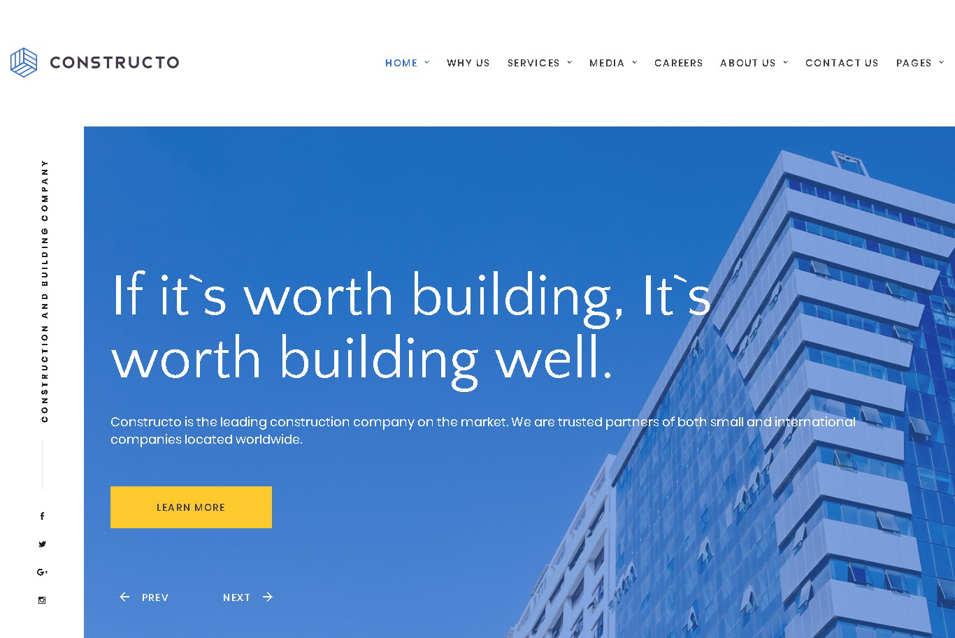 constructo architecture & construction_company_responsive website template