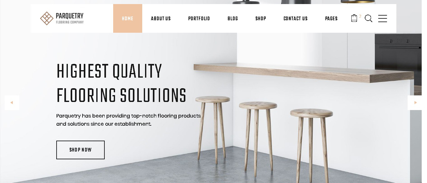 perquetry elegant flooring company_multipage html website template