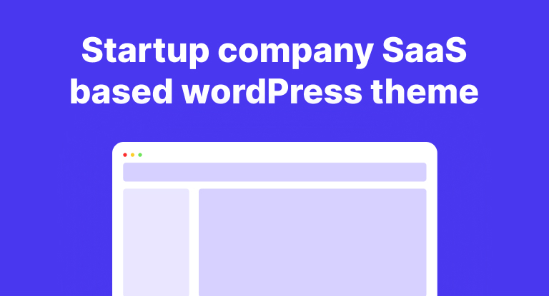 Top 15 Startup company SaaS based wordPress theme