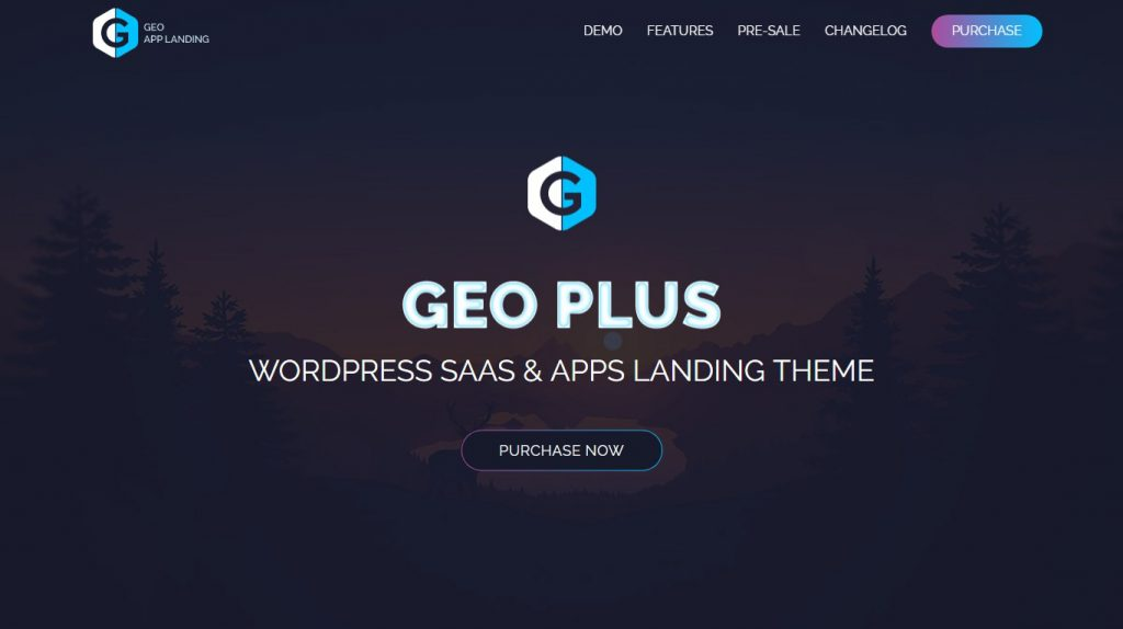 GEO Plus - WordPress SaaS & Web App Landing Page Theme