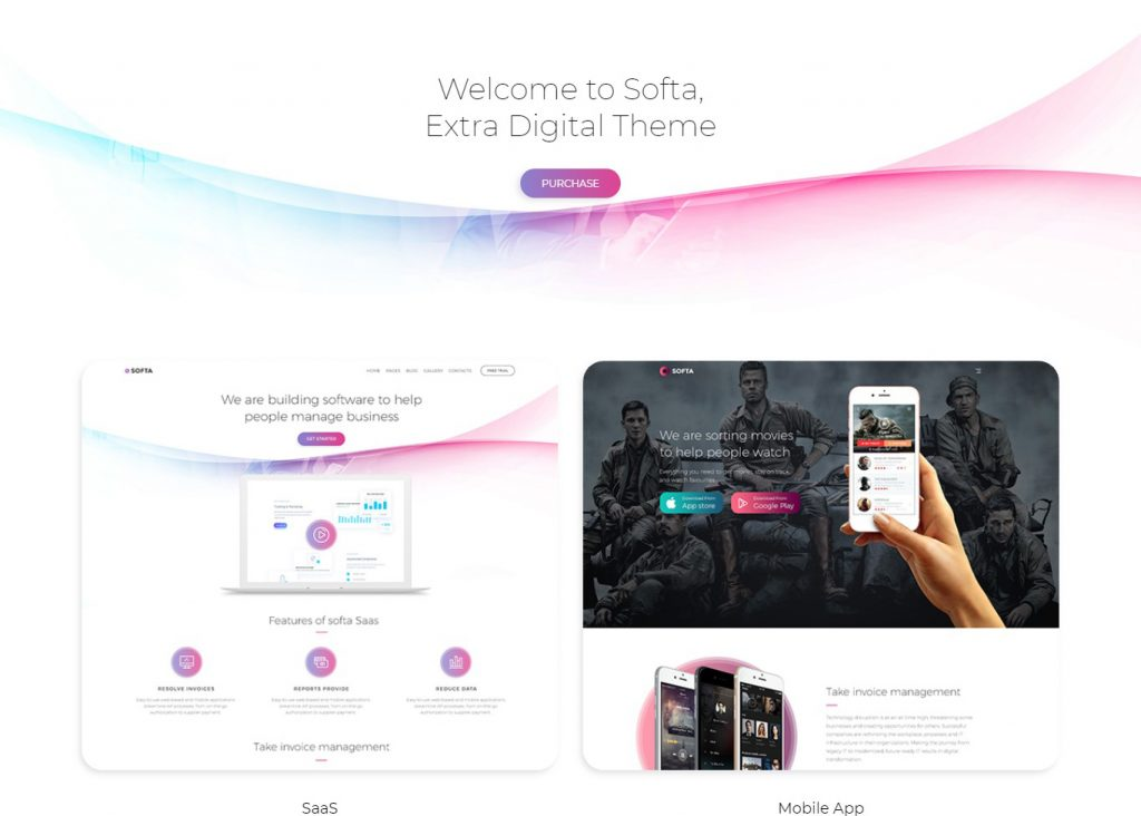 Softa | SaaS, Software & WebApp for SaaS/Software WordPress Theme