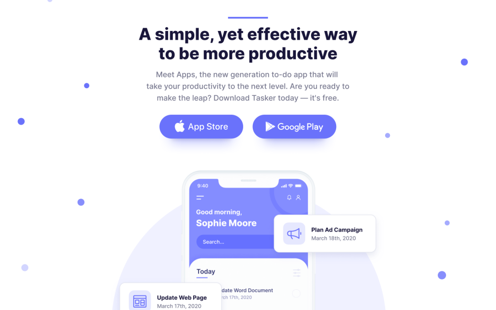 Apps - App Website Template