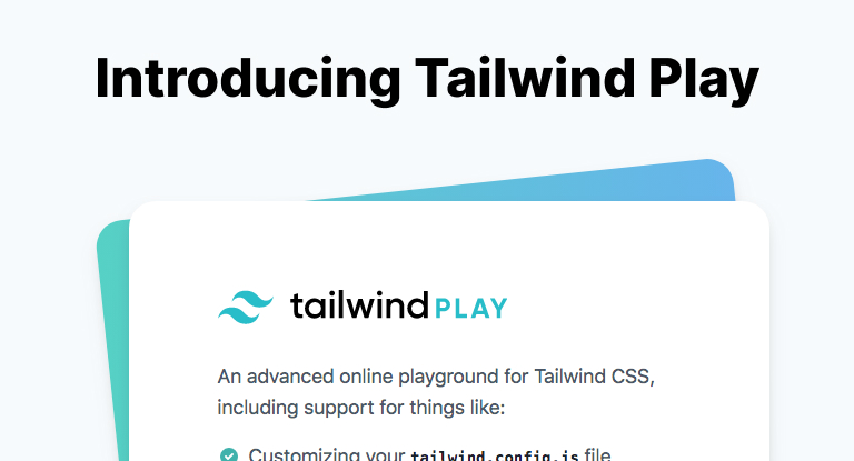 Introducing Tailwind Play