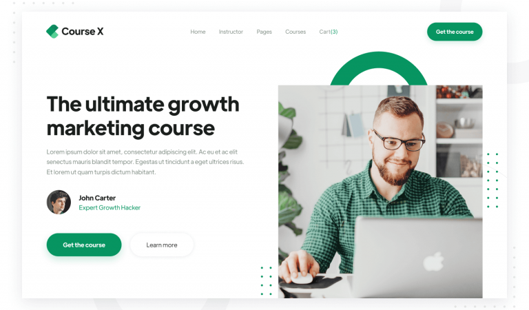 Courses Learning Webflow Template