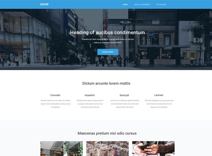 Download Free HTML Website Template