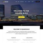 Square a Building Construction Website Template