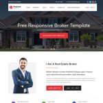 realone real estate broker bootstrap templates