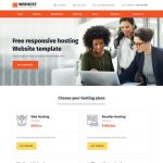 Webhost Web Hosting Bootstrap Responsive Templates