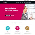impact seo company html5 website template