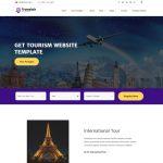 tour travel & tourism HTML website template