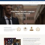 professional lawyer website template
